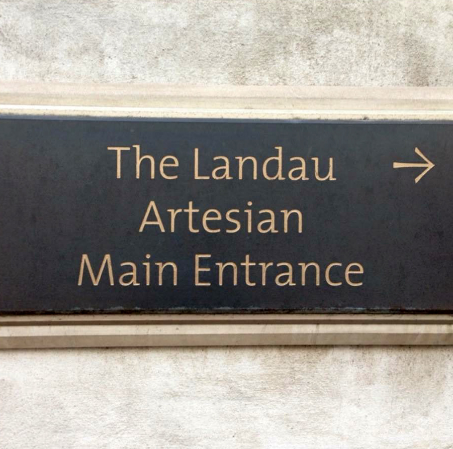 Artesian entrance