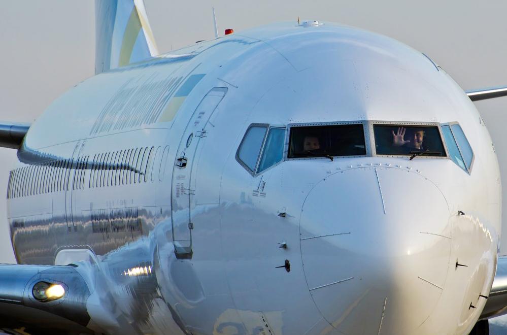 Пилоты Леша улыбается