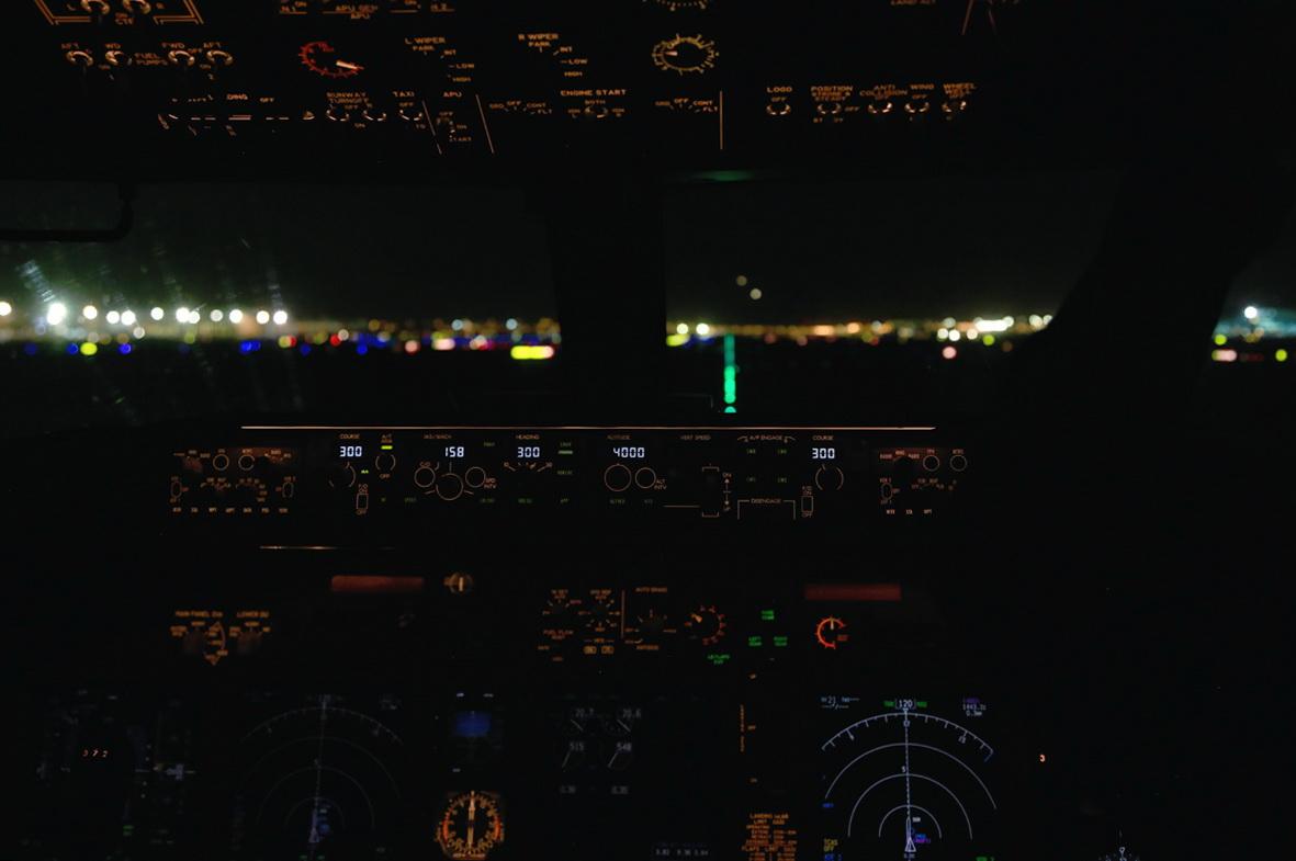 Пилоты приборная доска
