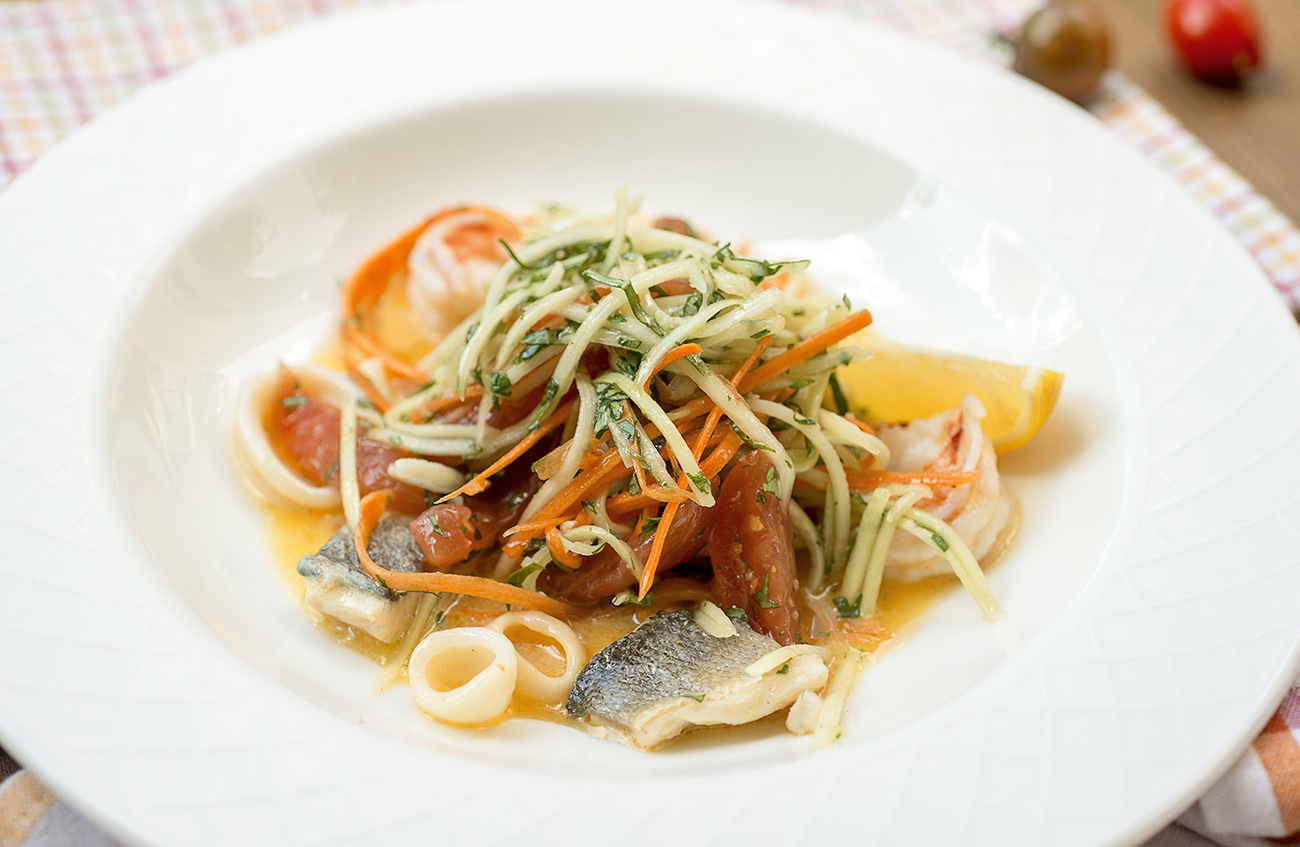 Vino морской салат