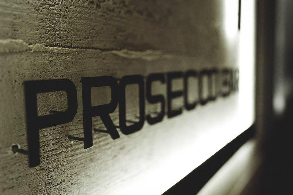 Prosecco вывеска