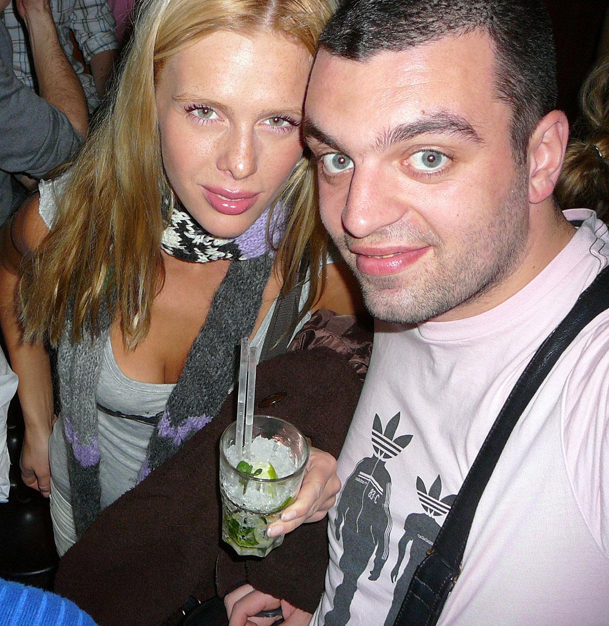 Мы с Машей в лондонском клубе «Fabric», 2007 год.