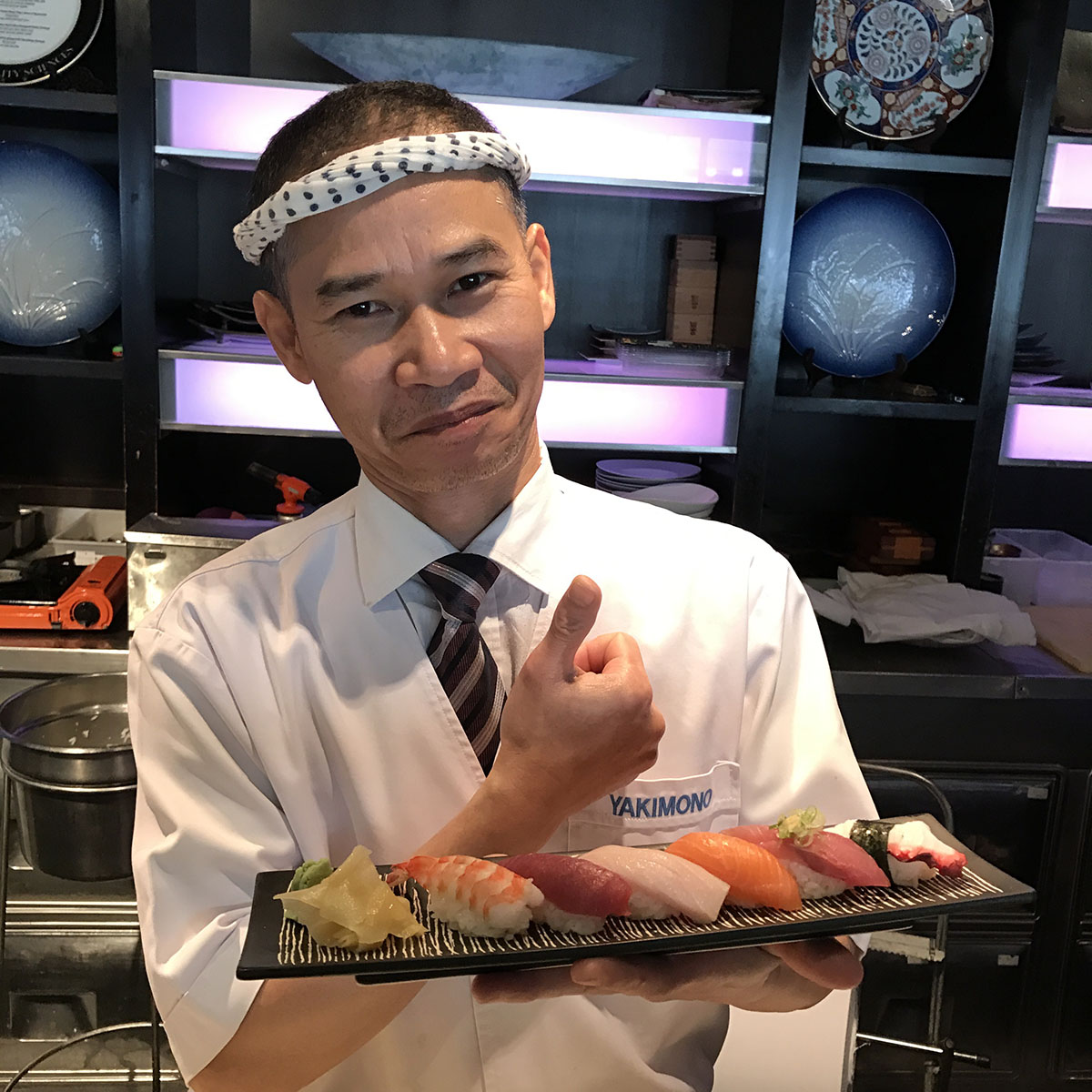 Dinner TLV Yakimono Sushi