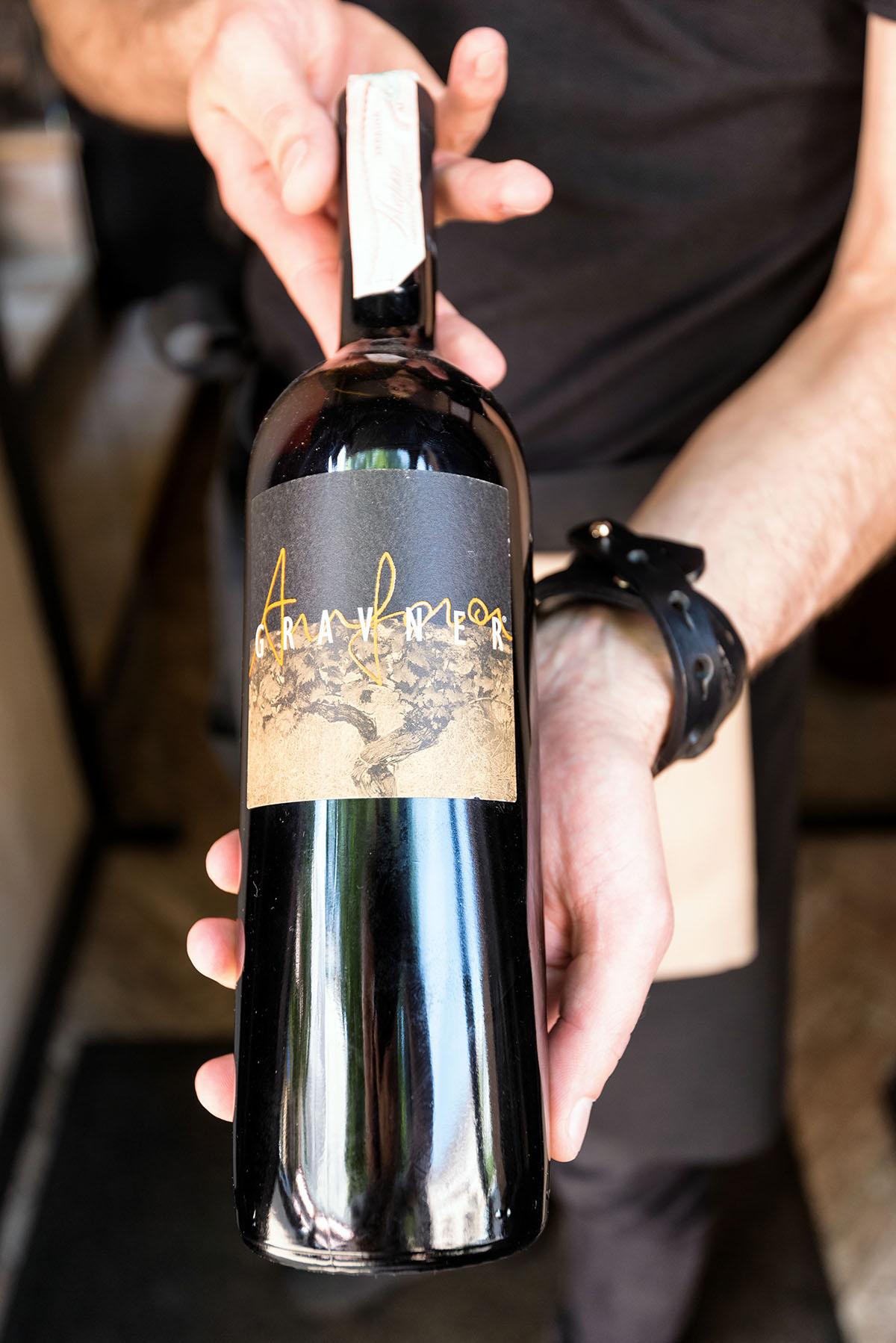 Бутылка «Gravner» обойдётся в 3800 гривен.